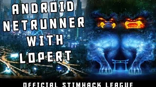 "Netrunner Stimhack League – Game 9 – ""Establish Lock"""