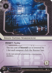 Brain-Taping Warehouse