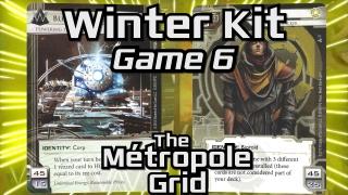 Winter Kit – Game 6: Blue Sun vs. Adam – The Métropole Grid